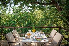Photo Gallery Enagron Ecotourism Village: Breakfast at Enagron Ecotourism Village in Axos Rethymno Crete - Traditional Houses