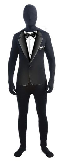 Formal Tuxedo Disappearing Man Adult Costume.