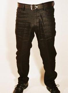 Black Linen Jean,  Bottoms