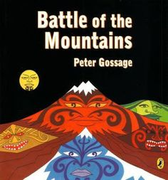 Gossage's classic retelling of the Maori myth of how Mt Taranaki, Mt Tauhara and Mt Putauaki came to stand where they are today. Maori Legends, Waitangi Day, Legend Stories, Maori Designs, Maori Art, 12th Book, How To Take Photos, Book Format, Storytelling