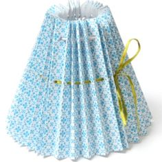 Pleated Paper Shade Small Flower Turquoise, Lighting, clocks, mirrors from Berry Red. House Doctor, Shabby Vintage, Shady Lady, Small Flowers, Lamp Shades, Art Studios, Favorite Color, Blue And White, Turquoise