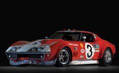 24 le mans 1968 Corvette C3s L88
