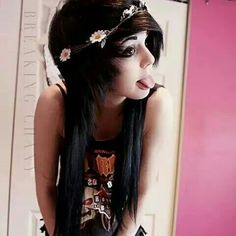 *Breaking Chany + Sarah Christine Fowler- may use random people* Hey I'm Raven. I'm 17 and I enjoy music, reading, writing, sing and playing guitar. I have an older brother. I dye my hair a lot. I am Bisexual and single Dye My Hair, Hair A, Eyebrow Jewelry, Body Jewelry, Emo Scene Hair, Indie Scene, Cute Emo, Alternative Hair, Scene Girls