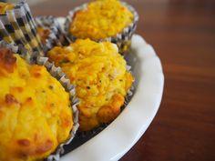 Pumpkin and Feta Muffins