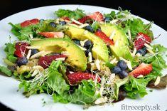 Super zeleninovo-ovocný šalát s pomarančovým dressingom - FitRecepty