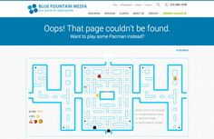30 brilliantly designed 404 error pages #webdesign