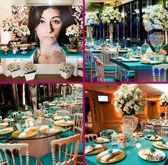 Azul Tiffany:prepare uma festa glamourosa!