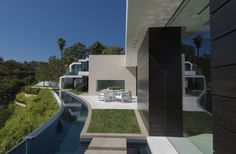 Whipple Russell Architects have recently completed Laurel Way, a house in Beverly Hills, California