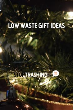 Are you a list minute gifter? If you said yes, these 9 low waste gift ideas from our Ambassador Kate might spark some needed inspiration.