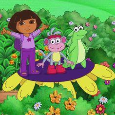 Dora the Explorer Episodes, Games, Videos on Nick Jr. Dora Games, Nick Jr, Dora The Explorer, Learning Spanish, Dora Boots, Princess Peach, Map, Full Episodes, Girl Hairstyles