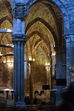 Interior de la Catedral de Ávila, Spain