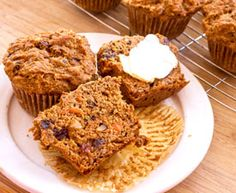 Carrot Cake Muffins- also great with zuchinni or/and blueberries.