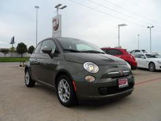 Deal of the Day: 2013 Fiat 500 Pop w/47K at $199 a month for 36 month. Sale price $7,995 $1,400 down plus t.t.&l with approved credit. Stock #: T742097 VIN: 3C3CFFAR0DT742097. Up to 40 MPG 1.4 liter 4 cylinder with mulitair, manual trasmission, and clean car fax