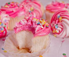 pink cupcakes | Tumblr