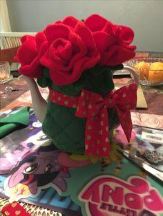 Flower teapot cozy