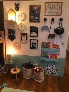 Like The Wall Paint Idea Playroom Ideas Gyerekszoba Gyerekek Kids Room Design, Interior Design Living Room, Living Room Colors, Home And Deco, Dream Decor, Kid Spaces, Girl Room, Kids Bedroom, Room Inspiration