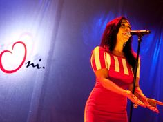 Singer Hind wearing a summer dress from byOni