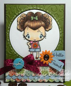 the greeting farm wild sprout megan | ... as my inspiration for my card using the so-adorable Wild Sprout Megan