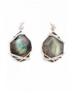 Kara Ross labradorite earrings