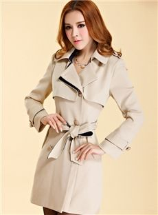 89ba28b3784 Best Gentlewomanly New Arrival Slim Trench Coat   dressyours.com Plus Size  Trench Coat