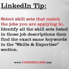 LinkedIN Tip #linkedin