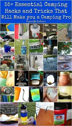 55+ Essential Camping Hacks and Tricks That Will Make you a Camping Pro {The most resourceful collection!}