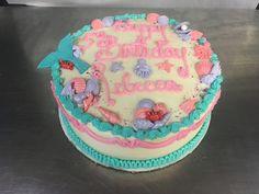 Mermaid cake Mermaid Cakes, Dawn, Birthday Cake, Baking, Sweet, Desserts, Food, Bread Making, Tailgate Desserts