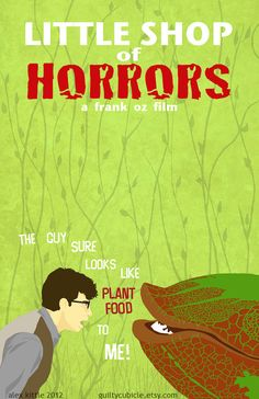 Little Shop of Horrors Original Movie Poster Art by guiltycubicle, $15.00