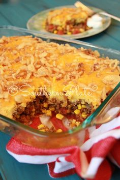 Family Favorite Tamale Pie ~ http://www.southernplate.com