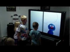 I don't know these kids, but I love this book and this video made me love these kids!  I can see my pre-school or kindergartners performing this for their music program.  Most kids on instruments and a few in the middle acting it out while the video is projected on the screen above them.  HOW CUTE!!!