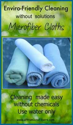 Clean home safely with microfiber cloths, for windows, kitchen, furniture. $48 for 4 cloths. www.ultramicrofibers.com #microfiber #cleaning