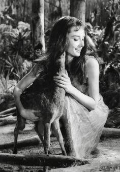Audrey Hepburn and Pippin