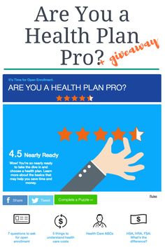 Are You a Healh Plan Pro plus giveaway