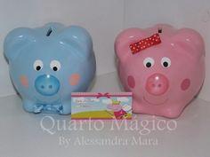 Cofres George e Peppa Pig