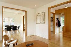Light wood trim