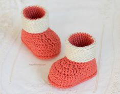 Autumn Blaze Baby Booties - Free Crochet Pattern                                                                                                                                                                                 More