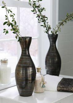 Decorative Bronze Ceramic Vase By Collections Etc Collections Etc,http://www.amazon.com/dp/B005S8OQCC/ref=cm_sw_r_pi_dp_nREAsb13RG3W00V6