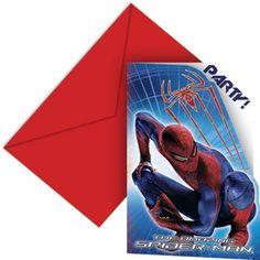 The Amazing Spiderman I Køb The Amazing Spiderman fødselsdags tema Superman, Batman, Amazing Spiderman, Bookends, Marvel, Inspiration, Biblical Inspiration, Inspirational, Inhalation