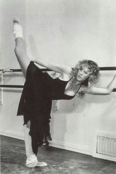 Super Seventies — Stevie Nicks at the barre.