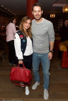 Onto the next one:Louise Redknapp and husband Jamie attended a bowling event at the Ham Yard Hotel in London on Tuesday evening