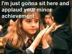 Hermione sass! Hahaha!