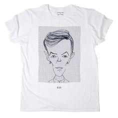 For my best friend Sli...Fab.com | David Bowie T-Shirt