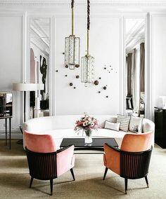 Dusty PinkBlush PinkPink ChairsContemporary InteriorOn InstagramInterior ArchitectureInterior DesignRetail