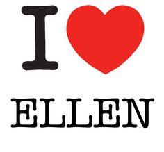 I Heart Ellen #love #heart