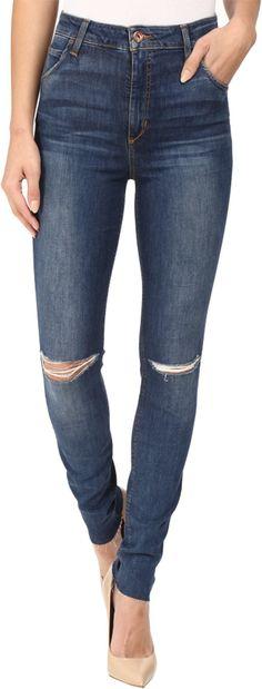 Joe's Jeans Women's Bella High Rise Skinny Jeans, Mellie, 30. Soft denim. 59% cotton/39% modal/2% elastane. Wash cold.