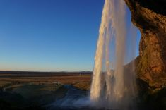 Iceland In The Fall - Backpack Globetrotter Fire And Ice, Iceland, Waterfall, Southern, Backpack, Travel, Outdoor, Ice Land, Bag Pack