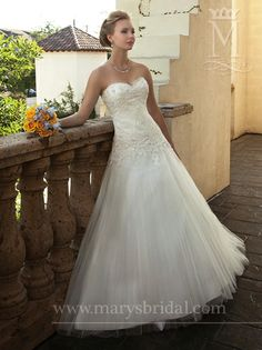 Astra Bridal - Marys 6110 - this is super cute