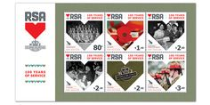 New Zealand post celebrates 100 years of service of RSA through stamps