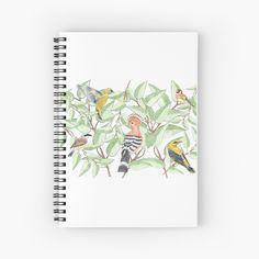 Buy Birds, My Arts, Notebook, Watercolor, Paper, Handmade, Design, Pen And Wash, Watercolor Painting
