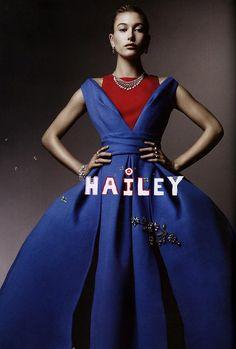 Upstarts: Hailey Baldwin in DIOR for Love Magazine Fall/Winter 2014 by Sølve Sundsbø